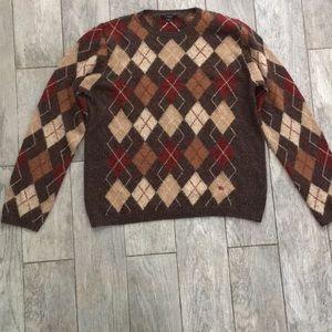 Authentic Vintage Burberry Argyle Sweater